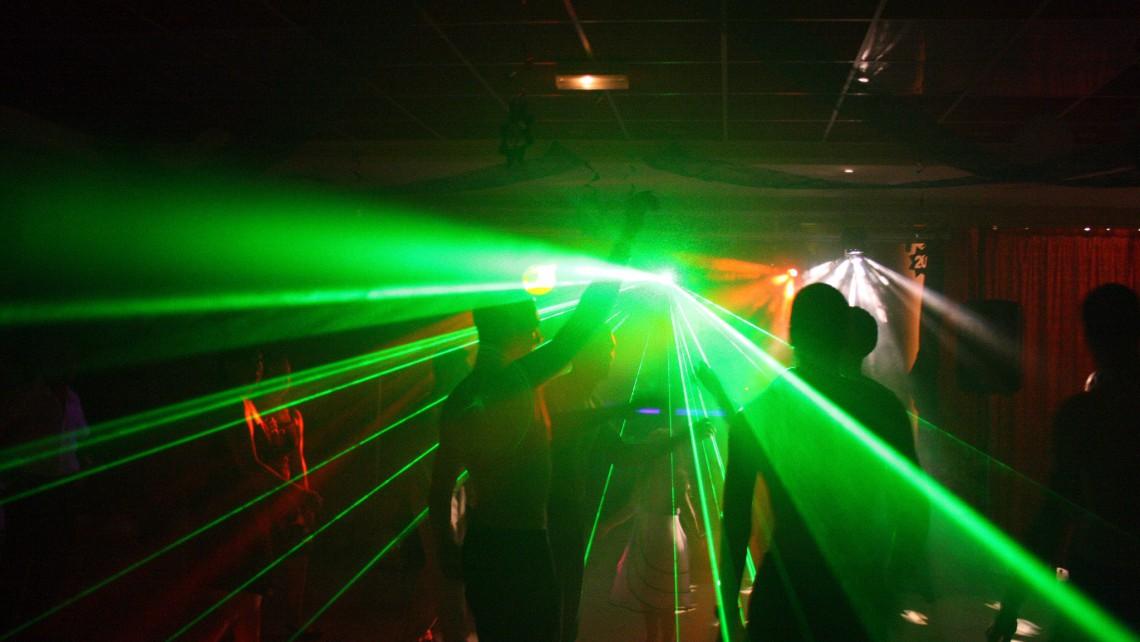 Effet Laser show laser
