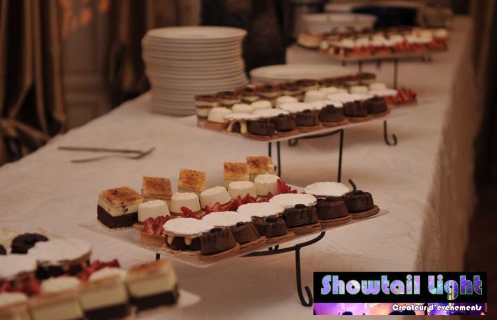 Piéce sucrée buffet de dessert