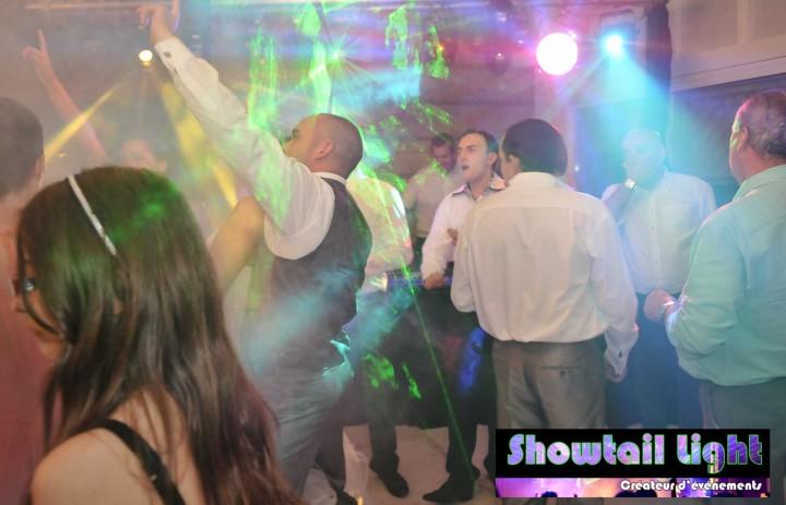 Ambiance piste de danse sur un mariage