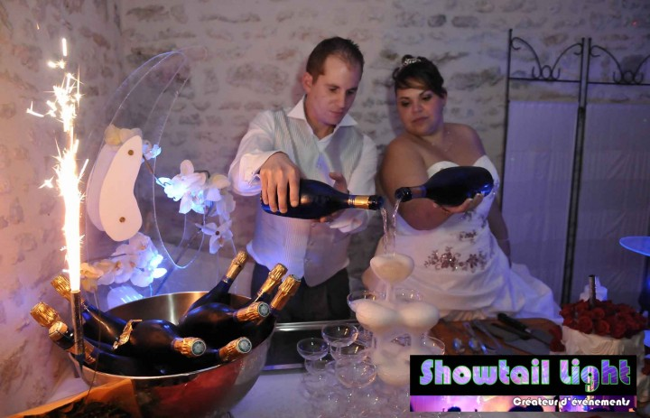 Organisation mariage coupes de champagne