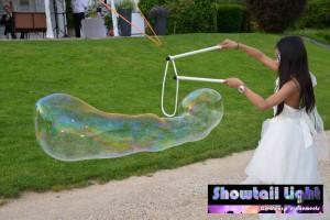 Animation bulle géante pour enfant