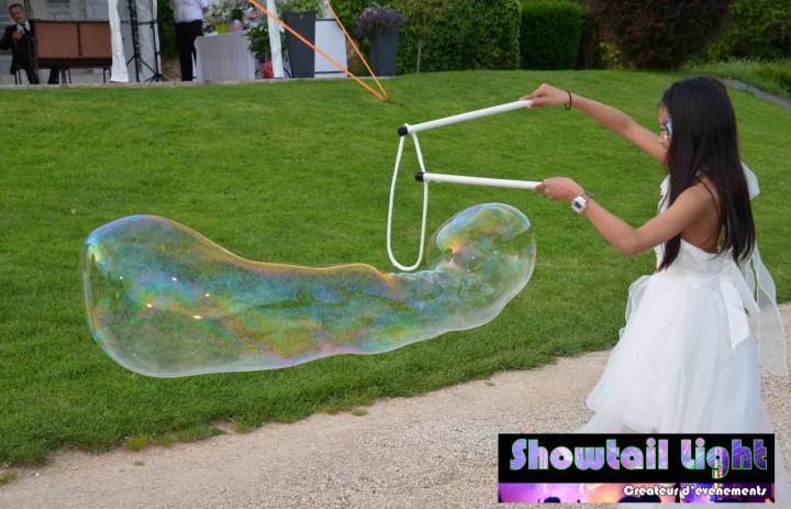 Animation enfant bulle géante