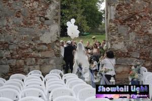 Sortie de cérémonie extérieure mariage franco Israélien