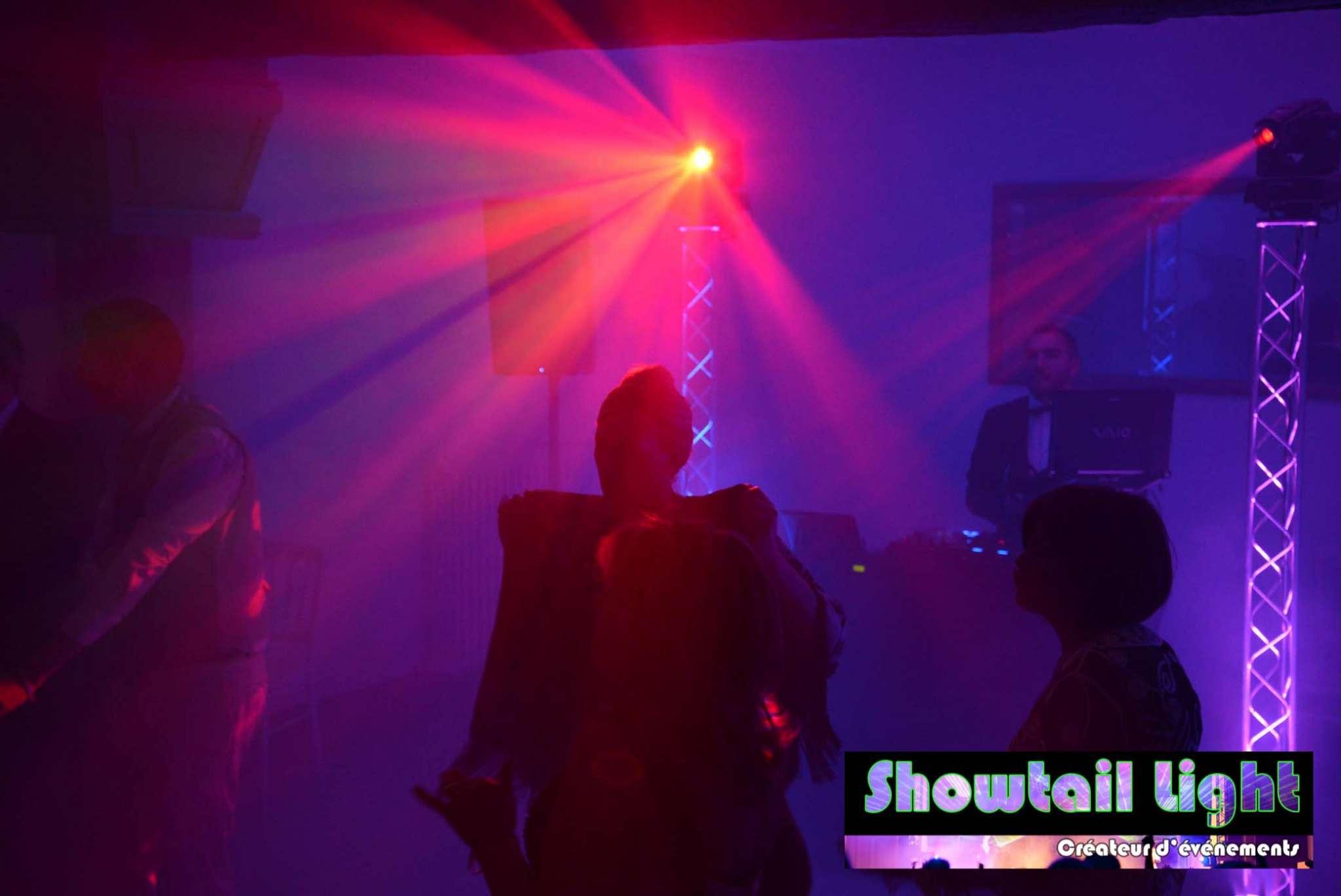 Lumière piste de danse soirée